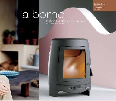 Invicta firewood stove LA BORNE